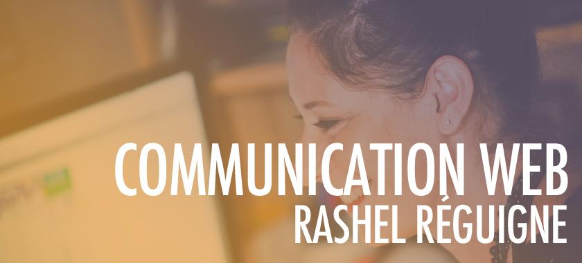Bienvenue à Rashel RÉGUIGNE, formatrice en communication Web et Experte WordPress